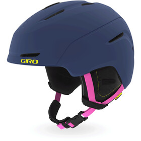 Giro Neo MIPS Casque Enfant, matte midnight/neon lights